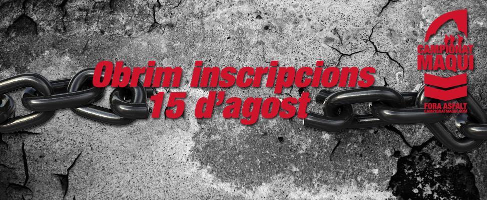 inscripcions curses muntnaya obertes